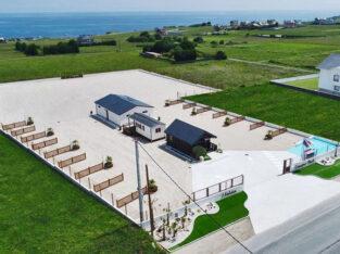 Área autocaravana en Foz «Camper Park Atalaia» en, Lugo