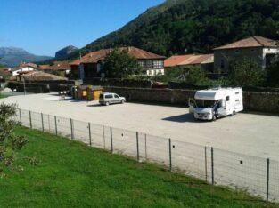 Área autocaravana en Lanestosa «Área de Lanestosa» en, Bizkaia