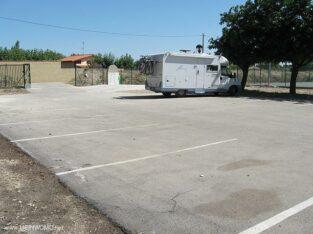 Área autocaravana en Marcilla «Área de Marcilla» en, Navarra
