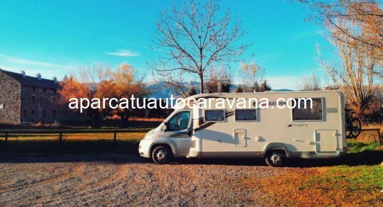 Área autocaravana en Viacamp «Área de Viacamp» en, Huesca