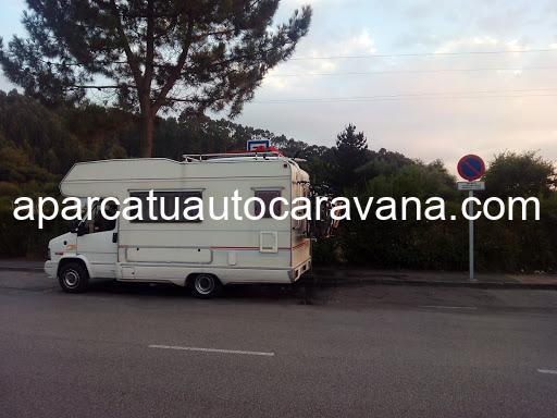 Área autocaravana en Salinas «Área de El Agüil» en, Asturias