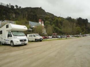 Área autocaravana en Ourense [Outariz] «Parking de Outariz» en, Ourense