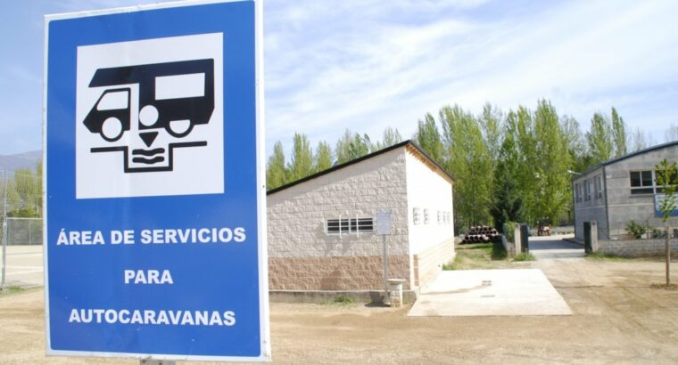 Área autocaravana en Bande «Área de Porto Quintela» en, Ourense