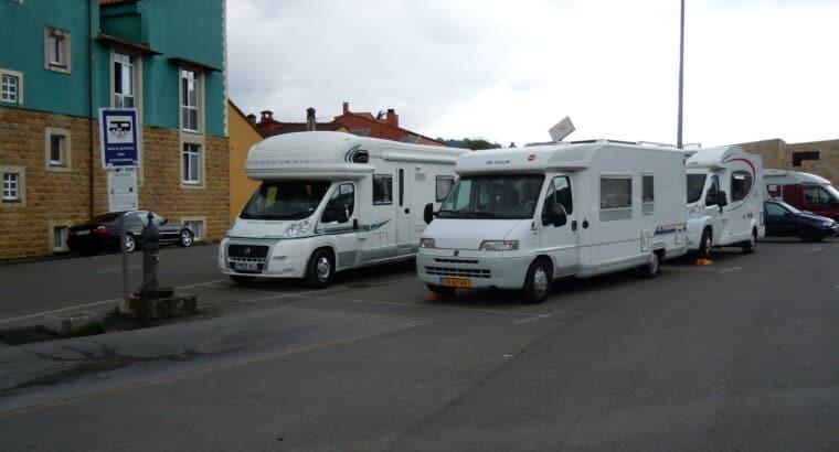 Área autocaravana en Cangas de Onís «Área de El Llerau» en, Asturias