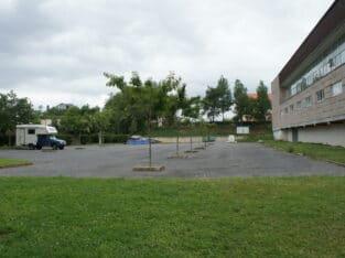Área autocaravana en Monforte de Lemos «Área de Monforte de Lemos» en, Lugo