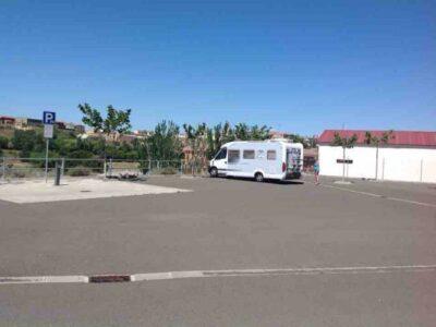Área autocaravana en Tamarite de Litera «Area de La Colomina» en, Huesca