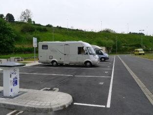 Área autocaravana en Lekeitio «Área de Lekeitio» en, Bizkaia