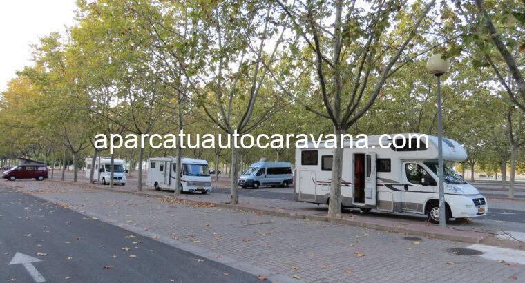 Área autocaravana en Logroño «Área de Logroño» en, La Rioja