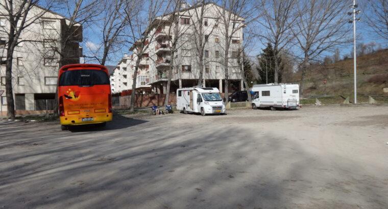 Área autocaravana en Jaca «Área de Membrilleras» en, Huesca