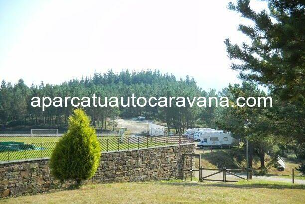 Área autocaravana en Illano «Area de Folgueirou» en, Asturias