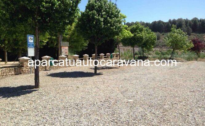 Área autocaravana en Sariñena «Área de Sariñena» en, Huesca
