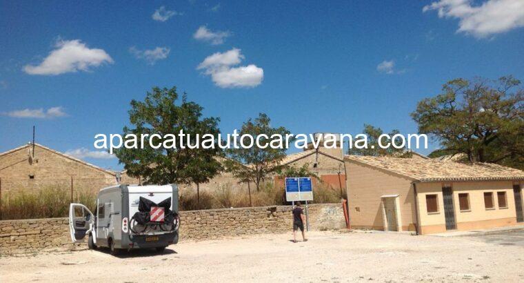 Área autocaravana en Tafalla «Área de Tafalla» en, Navarra