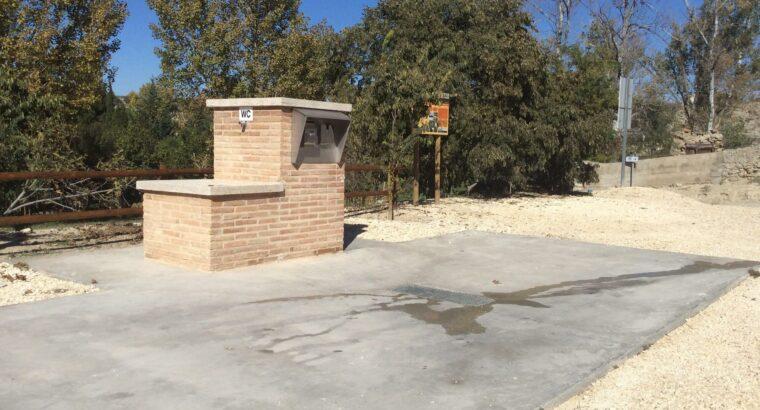Área autocaravana en San Esteban de Litera «Área de Sierra Blanca» en, Huesca