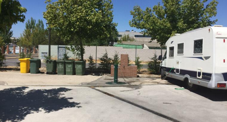 Área autocaravana en Pinto «Área de Pinto» en, Madrid