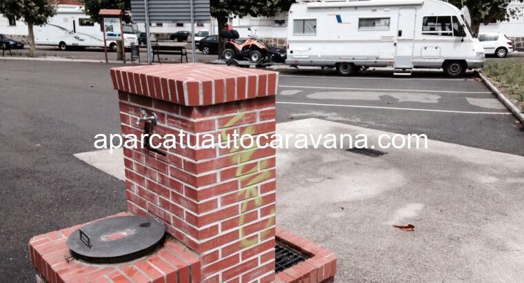 Área autocaravana en Mieres «Área de Mieres» en, Asturias