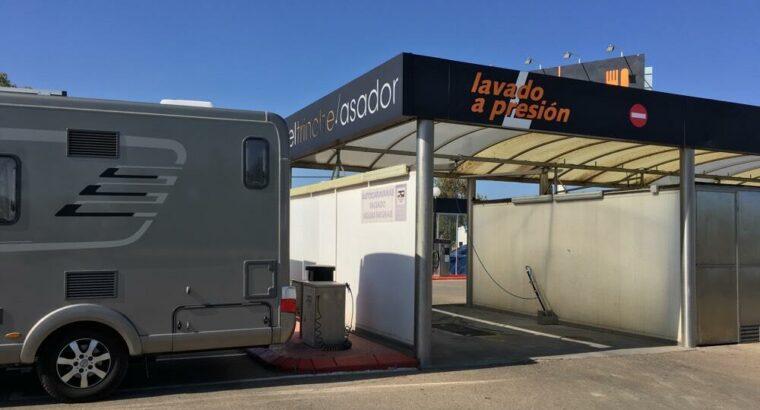 Área autocaravana en Huesca [Repsol] «Área de Repsol-San Jorge» en, Huesca