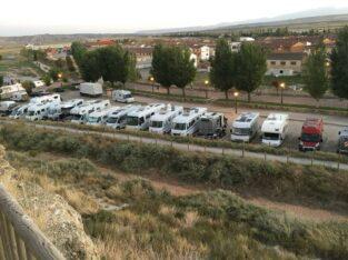 Área autocaravana en Arguedas «Área de Arguedas» en, Navarra