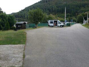 Área autocaravana en A Pontenova «Area de A Pontenova» en, Lugo