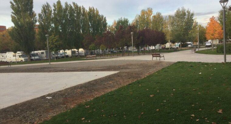 Área autocaravana en Teruel «Parking Plaza de la Guardia Civil» en, Teruel