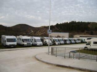 Área autocaravana en Ayegui «Área de Ayegui» en, Navarra