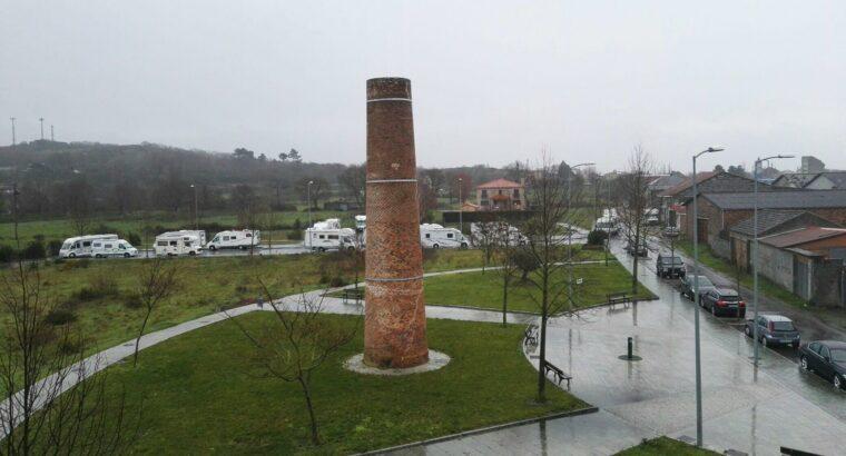Área autocaravana en Xinzo de Limia «Área de A Telleira» en, Ourense