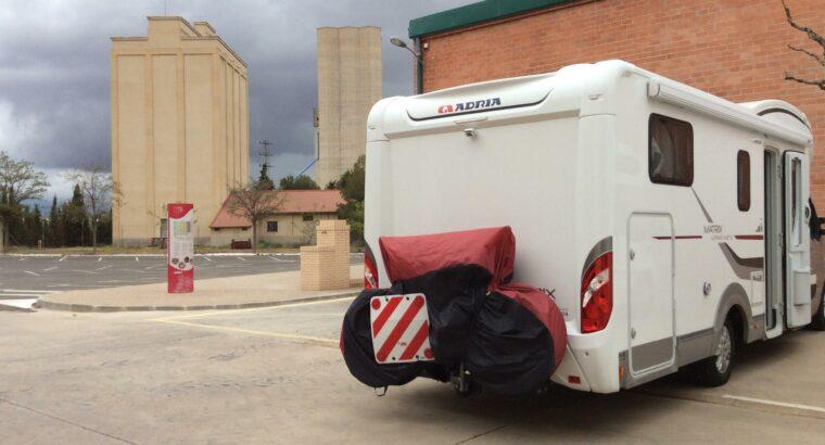 Área autocaravana en Cariñena «Área de Cariñena» en, Zaragoza