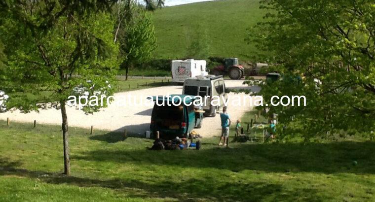 Área autocaravana en Amaiur   Maya «Parking de Otsondo» en, Navarra