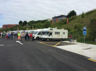 Área autocaravana en Santander «Área de Las Llamas» en, Cantabria