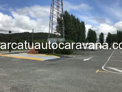 Área autocaravana en Eskoriatza «Área de Eskoriatza-Uztarreta» en, Gipuzkoa