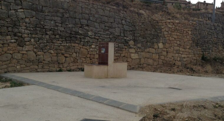 Área autocaravana en Calaceite «Área de Calaceite» en, Teruel