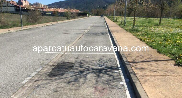 Área autocaravana en Aoiz «Área de Aoiz» en, Navarra