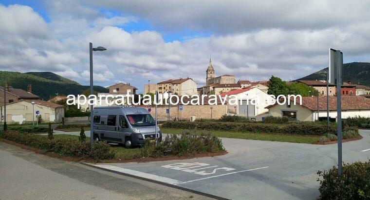 Área autocaravana en Peñacerrada / Urizaharra «Área de Peñacerrada» en, Álava