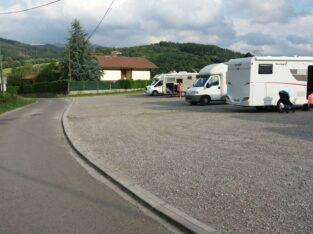 Área autocaravana en Zamudio «Área de Arteaga» en, Bizkaia