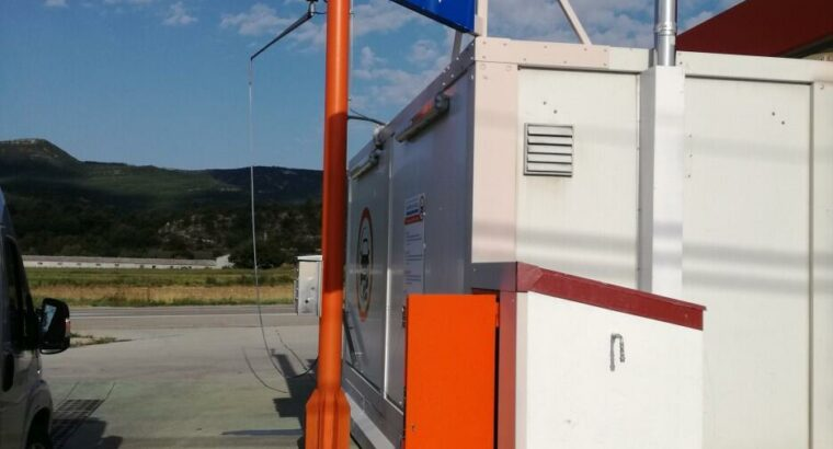 Área autocaravana en Graus «Área de HiperOil-Graus» en, Huesca