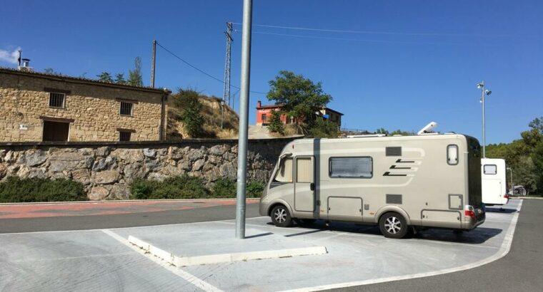 Área autocaravana en Elciego «Área de Barrihuelo» en, Álava