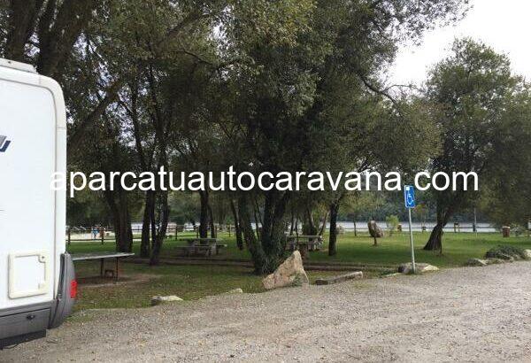 Área autocaravana en Leiro «Área de El Salgueiral» en, Ourense