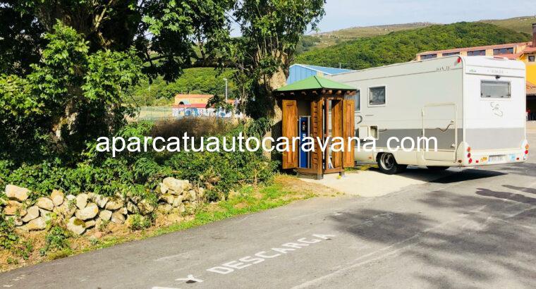 Área autocaravana en Corconte «Área de Corconte-Campoo de Yuso» en, Cantabria