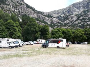 Área autocaravana en Panticosa «Parking de Panticosa» en, Huesca