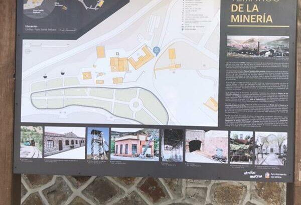 Área autocaravana en Utrillas «Área del Parque Temático de la Minería» en, Teruel
