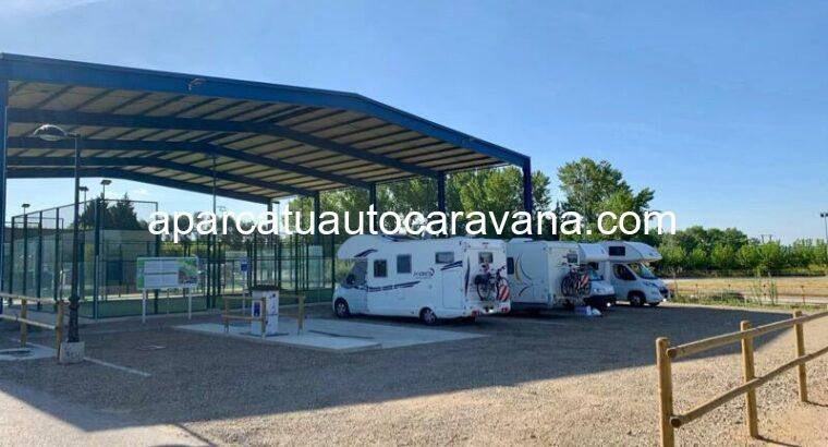 Área autocaravana en Lodosa «Área de Lodosa» en, Navarra
