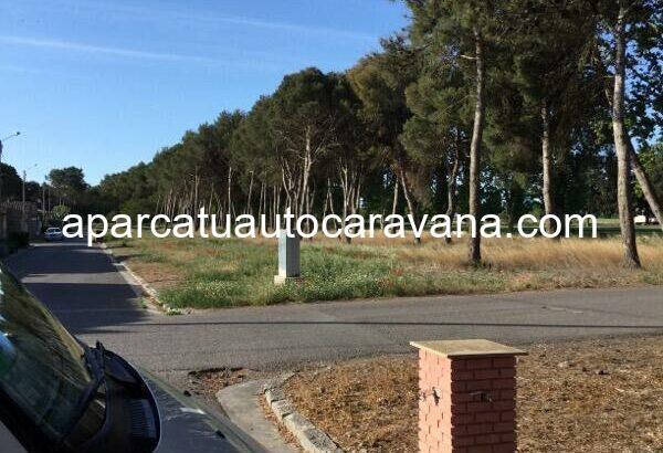 Área autocaravana en La Cartuja de Monegros «Área de La Cartuja de Monegros» en, Huesca