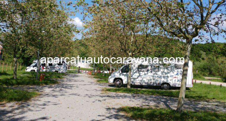 Área autocaravana en Uharte Arakil «Área de Itxesi» en, Navarra