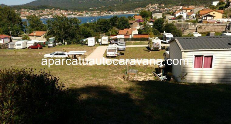 Área autocaravana en Cangas de Morrazo «Camping-Car Área Playa Arneles» en, Pontevedra