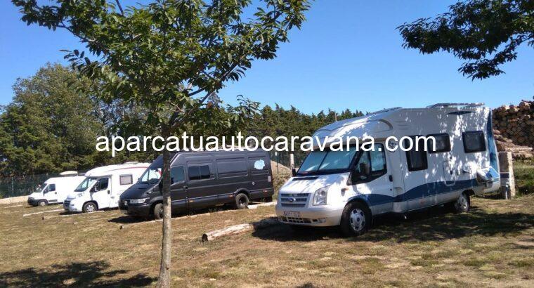 Área autocaravana en Tameiga «Área de As Pedriñas» en, Pontevedra