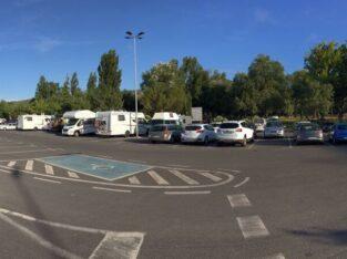 Área autocaravana en Plasencia [La Isla] «Parking de La Isla-2» en, Cáceres