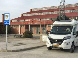 Área autocaravana en Cella «Área de Cella» en, Teruel