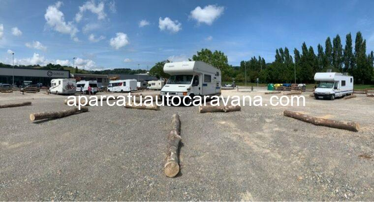 Área autocaravana en Zarautz «Área de Zarautz» en, Gipuzkoa