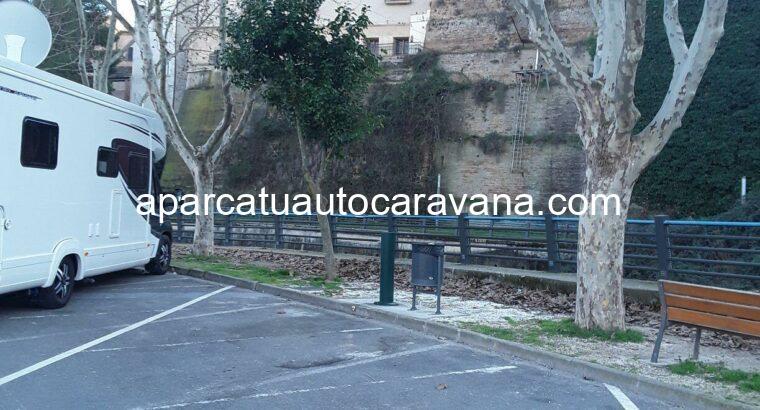Área autocaravana en Barbastro «Área de Barbastro» en, Huesca