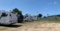 Área autocaravana en Poio «Área de A Seca» en, Pontevedra