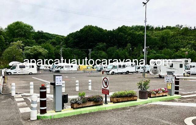 Área autocaravana en Irún «Autocaravan Park Jaizubia» en, Gipuzkoa